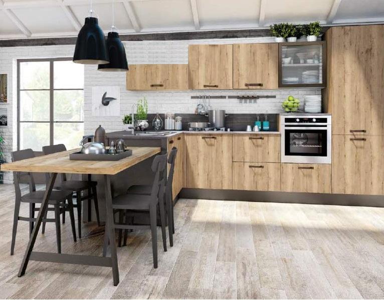 Offerta cucina urban style outlet della cucina for Arredamento urban