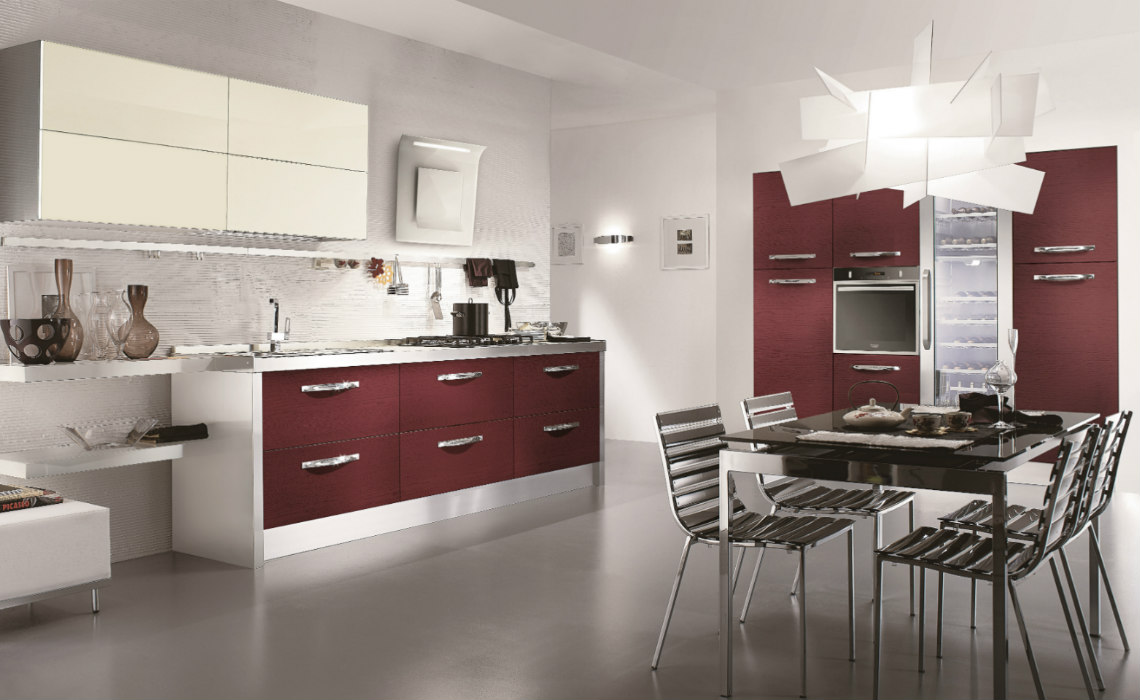 cucine e soggiorni outlet della cucina